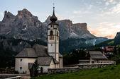 Dağ kilise Alp Köyü. — Stok fotoğraf