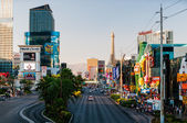 Famous Las Vegas Strip — Stock Photo