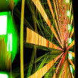 Spin of ferris wheel — Stock Photo