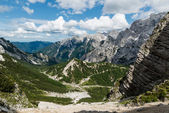 Landscape view of Julian Alps, Slovenia. — Stock Photo