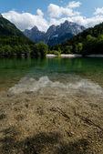 Lake in Julian Alps — Stock Photo