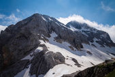 Mountain Triglav 2,864 m (9,396 ft) — Stock Photo