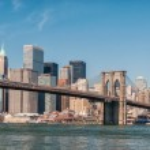Brooklyn Bridge and Manhattan. — Stock Photo #36190089