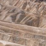 Eroded ridges at the Zabriskie Point — Stock Photo