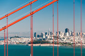 Golden gate köprüsü — Stok fotoğraf