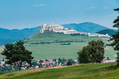Scenic view of famous Spis Castle, Slovakia. — Stock Photo