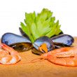 Sea food — Stockfoto