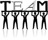 Team — Stock Vector