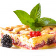 Currant pie — Stock Photo
