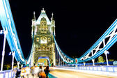London bridge, night — Stock Photo