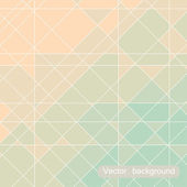 Geometric background — Stock Vector