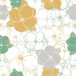 Abstract Elegance Seamless pattern with floral background. Seamless pattern can be used for wallpaper, pattern fills, web page backgrounds, surface textures. Gorgeous seamless floral background Eps 10 — Stock Vector