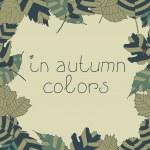 telaio da foglie d'autunno. autunnale sfondo senza soluzione di continuità. EPS 10 — Vettoriale Stock