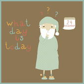 What day is today? — Stock Vector