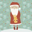 Merry Christmas card in vector.  — 图库矢量图片