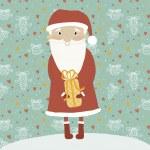 Merry Christmas card in vector. — Stock Vector #33272443