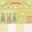 Easter scrapbook — Stock Vector