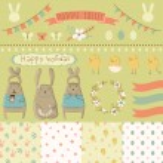 Easter scrapbook — Stock Vector #43688301