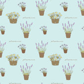 Flowers texture — Stock Vector