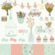 Set for wedding design. — Stockvektor  #47440663