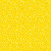 Simple school seamless pattern — Stock Vector