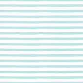 Striped seamless pattern inspired by navy uniform in shades of aqua blue. — Stock Vector