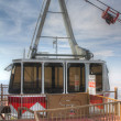 Stock Photo: SandiPeak Tramway gondolin summit station