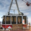 Sandia Peak Tramway gondola in the summit station — Stock Photo