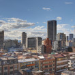 Skyline of Bogota Candelaria — Stock Photo