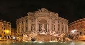 Fontana di Trevi at night — Stock Photo