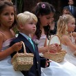 Children at a wedding — Stock Photo