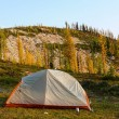 Stock Photo: Solitary Tent