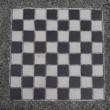 Black and White Checkerboard — Stok fotoğraf