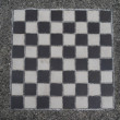 ストック写真: Black and White Checkerboard