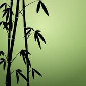 Bamboo background — Vector de stock