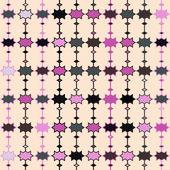 Geometric retro pattern — Stock Vector
