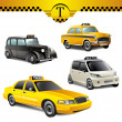 Taxi cars — Stock Vector #36922669