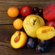 Foto Stock: Summer fruits