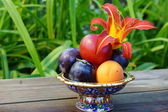 Summer fruits — Stock Photo