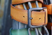 Belts and buckles — Stock Photo