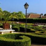 tranquilo jardín — Foto de Stock