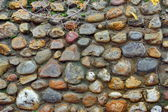 Cobblestone Wall Background XXXL. — Stock Photo