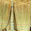 Foto de Stock  : Brooms Cleaning Equipment Background