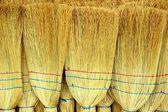 Brooms Cleaning Tool Background XXXL — Stock Photo