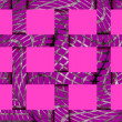 Abstract festive pink background of 12 cells — Stock Photo