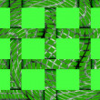 Abstract festive green background of 12 cells — Stock Photo