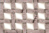 Art Christmas or Festive Decoration 3D Background of 12 cells — Stock Photo