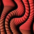 Stock Photo: Abstract twisting shape digital art background