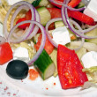 Mediterranean vegetable salad — Stock Photo