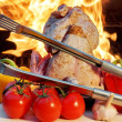Summer Picnic Barbeque — Stock Photo
